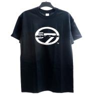 Scan 7 T-Shirt (Black / White Print)
