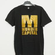 Murder Capital Logo T-Shirt (Black)