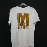 Murder Capital Logo T-Shirt (White)