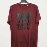 Murder Capital Stealth T-Shirt (Bordeaux)