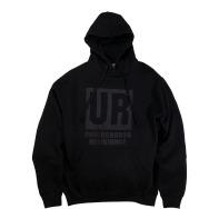 Underground Resistance - UR Hoodie (Black on Black)