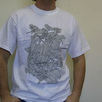 Delta Gray Cubes (White)