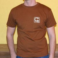 Compost Records Logoshirt (Brown)