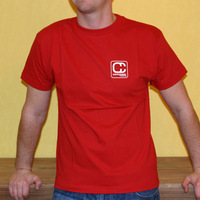 Compost Records Logoshirt (Red)