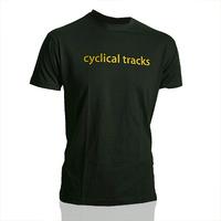 Cyclical Tracks Shirt (Black)