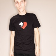 Death is Nothing to Fear SkullHeart Tee (Black)