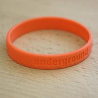 Silikonband Underground (darkorange)