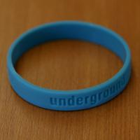 Silikonband Underground (Turquoise)