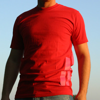 DEFRAG Stripes T-Shirt (red)