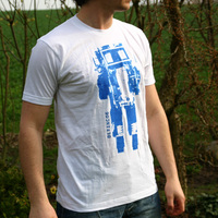 Delta Robot06 Shirt (White)