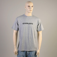Einmaleins Man-Shirt (grey with black labelname)