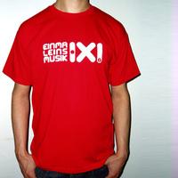 Einmal Eins Rec Logo Shirt (Red)