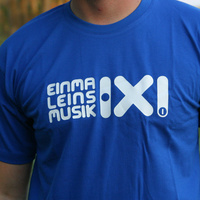 Einmal Eins Rec Logo Shirt (Royal Blue)