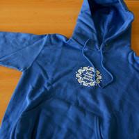 Kids Fat Kapuzensweater (Royal Blue)