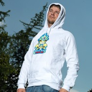 Missill - Don t Fuck with me Hoodie (White)