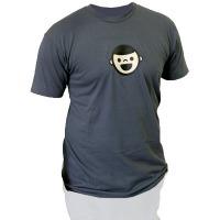 Ghostly Boy Catbird Shirt (Asphalt)