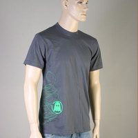 Ghost Nouveau Tee (absinth green on gray)