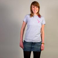 Cocoon Logo Girlshirt (Grey / Pink)
