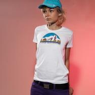 Skyline Sports Girl Shirt (White)