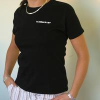Kanzleramt Logo Girl-Shirt / black