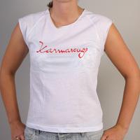 Karmarouge Girlshirt (White)
