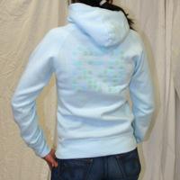 Kompakt Total Girl Hooded Sweater (Light Turquoise)