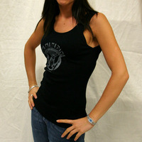 Mandy Girl Tankshirt (Black)