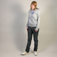 Musik Krause Hooded Girl Sweater (Gray)