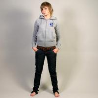 Musik Krause Hooded Girl Jacket (Gray)