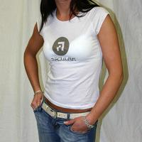 Girl Regular Rec Shirt (White)