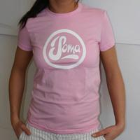 Soma Records Girlshirt (Pink / White Print)