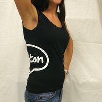 Trenton Logo Girlshirt (Black)