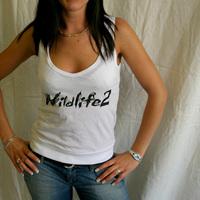 Cocoon Wildlife 2 Girlie Tank-Shirt