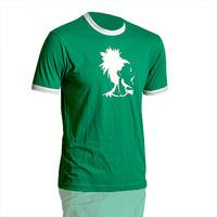 Goog Extra Ringershirt (Green / White)