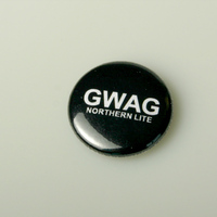 Button Northern Lite GWAG (black)