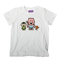 BoyCatBird Kids Tee (white)