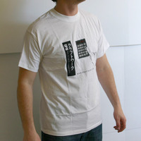 Kraftwerk Calculator Logoshirt (White)