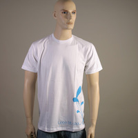 Liebe ist Cool Flower Shirt (White)