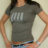 Girly Logistic Design (Olive Shirt)