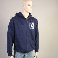 Musik Krause Hooded Zipper Sweater (Navy)