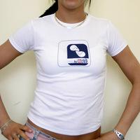 Girl Musik Krause Shirt (White / Fitform)