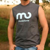 Modelisme 2006 Shirt Sleeveless (asphalt)