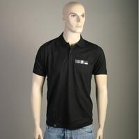 Moonbootique Records Polo Shirt (Black)
