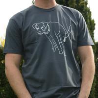 Mos Ferry Dog Logo Shirt (Asphalt)