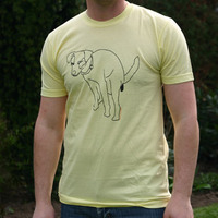 Mos Ferry Dog Logo Shirt (Yellow)