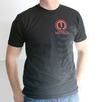 Motech Eagle Shirt (Black / Red Logo)