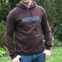 Motech Hooded Sweater (Chocolat)