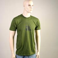 New Rave was last Weekend Shirt (Bottle Green)