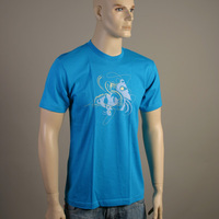 Num Artwork Shirt (Bright Blue)