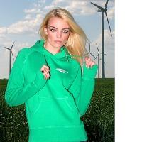 Girlshirt Ostwind Rec Hoody (Green Vintage)